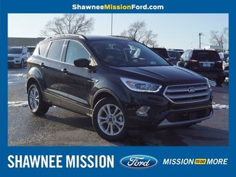 2019 Agate Black Metallic Ford Escape SEL EcoBoost 1.5L I4 GTDi DOHC Turbocharged VCT Engine SUV 4 Door Automatic FWD