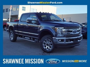 2019 Blue Jeans Metallic Ford Super Duty F-250 SRW Lariat Power Stroke 6.7L V8 DI 32V OHV Turbodiesel Engine 4X4 Automatic 4 Door