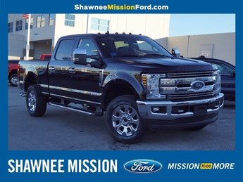 2019 Agate Black Metallic Ford Super Duty F-350 SRW Lariat 4X4 4 Door Truck