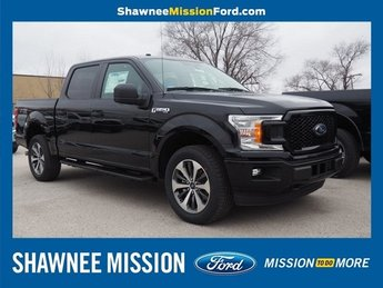 2019 Agate Black Metallic Ford F-150 XL 4X4 Truck Automatic EcoBoost 2.7L V6 GTDi DOHC 24V Twin Turbocharged Engine 4 Door