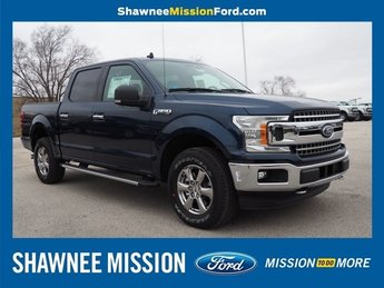 2019 Blue Ford F-150 XLT Truck 4X4 EcoBoost 2.7L V6 GTDi DOHC 24V Twin Turbocharged Engine