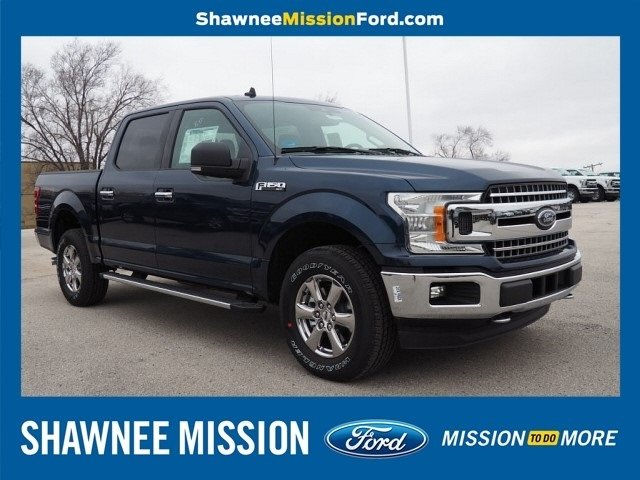 2019 Blue Ford F-150 XLT Truck Automatic 4 Door EcoBoost 2.7L V6 GTDi DOHC 24V Twin Turbocharged Engine