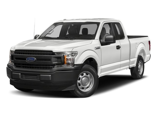2018 Oxford White Ford F-150 XL Automatic Truck 4X4 EcoBoost 2.7L V6 GTDi DOHC 24V Twin Turbocharged Engine 4 Door