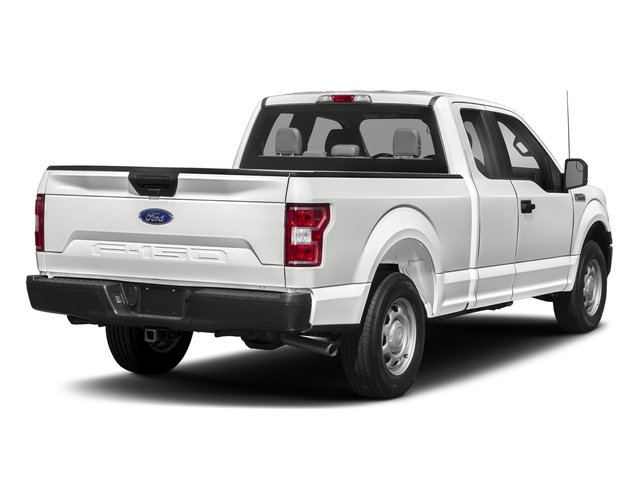 2018 Oxford White Ford F-150 XL 4 Door 4X4 Truck EcoBoost 2.7L V6 GTDi DOHC 24V Twin Turbocharged Engine