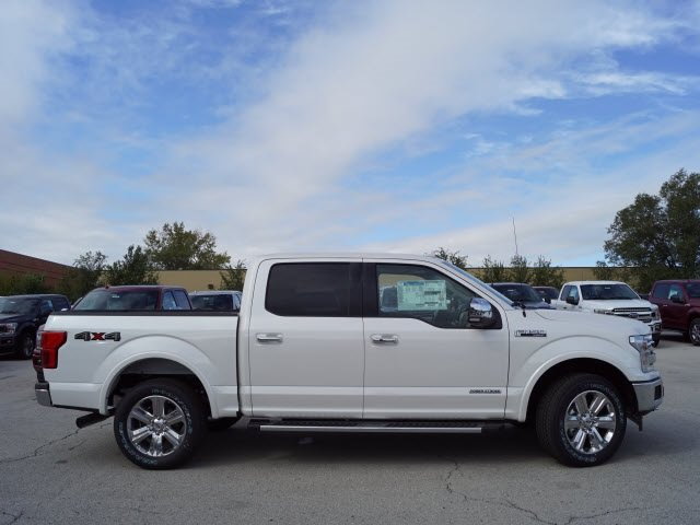 2018 White Ford F-150 Lariat Truck Automatic 4X4 3.0L Diesel Turbocharged Engine