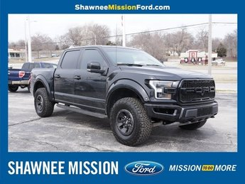 2017 Shadow Black Ford F-150 Raptor Automatic EcoBoost 3.5L V6 GTDi DOHC 24V Twin Turbocharged Engine 4X4 Truck
