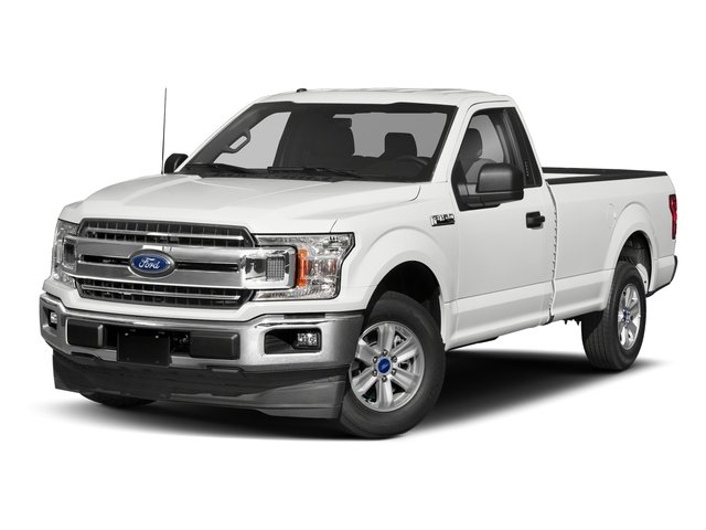 2018 Oxford White Ford F-150 XL 5.0L V8 Ti-VCT Engine Automatic 4X4 Truck 2 Door