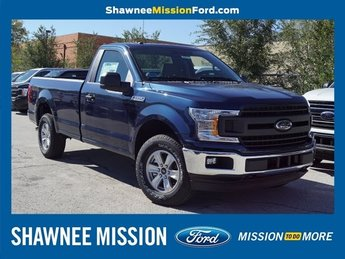 2018 Blue Ford F-150 XL EcoBoost 2.7L V6 GTDi DOHC 24V Twin Turbocharged Engine Automatic Truck 2 Door 4X4