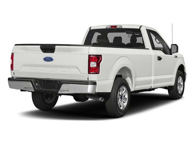 2018 Oxford White Ford F-150 XL 5.0L V8 Ti-VCT Engine Truck 4X4 Automatic