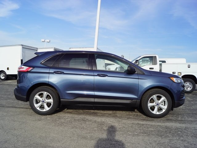 2019 Blue Metallic Ford Edge SE SUV 4 Door Automatic