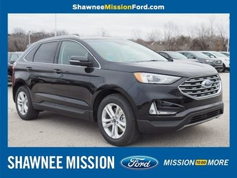 2019 Agate Black Metallic Ford Edge SEL Automatic 4 Door 2.0L Engine SUV