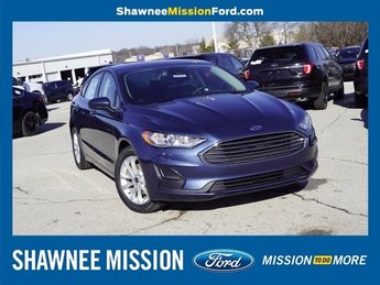 2019 Ford Fusion SE EcoBoost 1.5L I4 GTDi DOHC Turbocharged VCT Engine FWD 4 Door