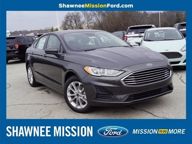 2019 Ford Fusion SE Sedan Automatic FWD 4 Door EcoBoost 1.5L I4 GTDi DOHC Turbocharged VCT Engine