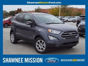 2018 Ford EcoSport SE SUV 4 Door EcoBoost 1.0L I3 GTDi DOHC Turbocharged VCT Engine Automatic