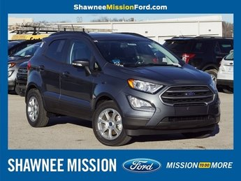 2018 Ford EcoSport SE EcoBoost 1.0L I3 GTDi DOHC Turbocharged VCT Engine FWD 4 Door SUV Automatic