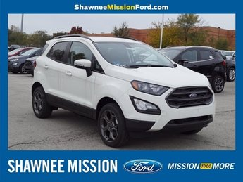 2018 Diamond White Ford EcoSport SES I4 Engine SUV 4 Door Automatic