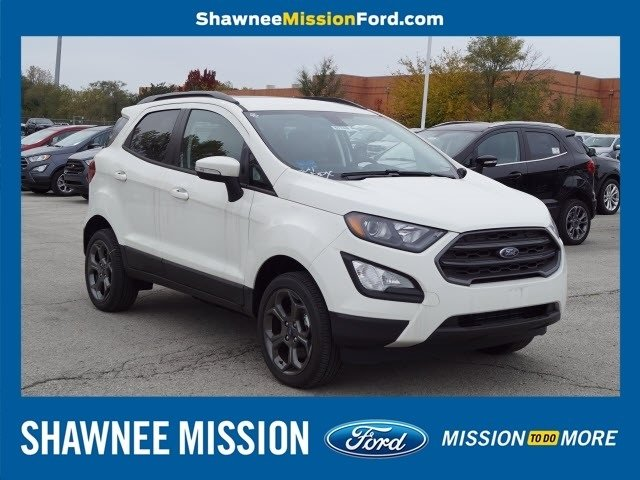 2018 Ford EcoSport SES 4 Door SUV 4X4 I4 Engine