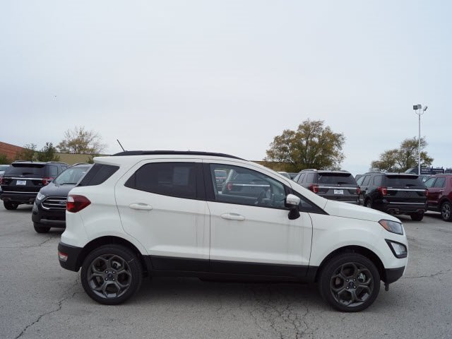 2018 Diamond White Ford EcoSport SES 4 Door SUV I4 Engine 4X4 Automatic