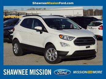 2018 Diamond White Ford EcoSport SE Automatic 2.0L I4 Ti-VCT GDI Engine 4X4