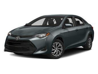 2018 Slate Metallic Toyota Corolla LE Sedan Automatic (CVT) 4 Door