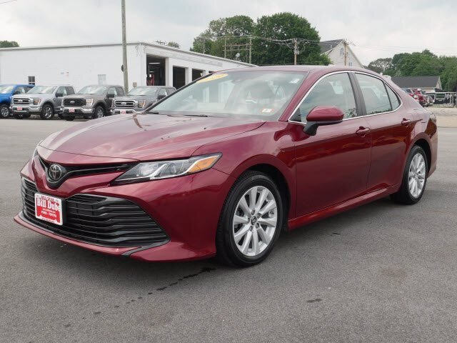 2019 Ruby Flare Pearl Toyota Camry LE Sedan FWD 2.5L 4 cyls Engine 4 Door Automatic