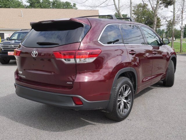 2018 Predawn Gray Mica Toyota Highlander LE SUV 4 Door 3.5L V6 Engine AWD