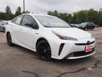 2021 White Toyota Prius 20th Anniversary Edition Hatchback FWD 1.8L 4 cyls Hybrid Engine 4 Door Automatic (CVT)