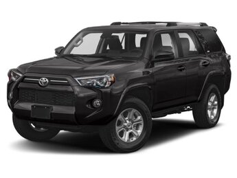 2021 Magnetic Gray Metallic Toyota 4Runner SR5 Premium 4X4 Automatic SUV 4 Door