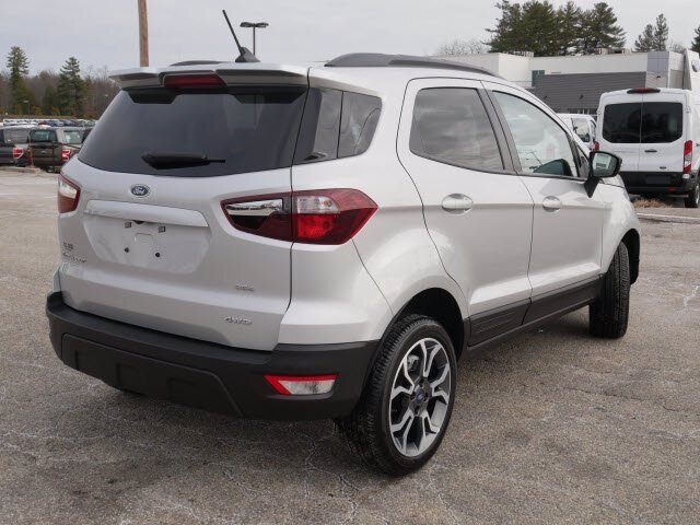 2020 Moondust Silver Metallic Ford EcoSport SES Automatic 2.0L 4 cyls Engine 4 Door