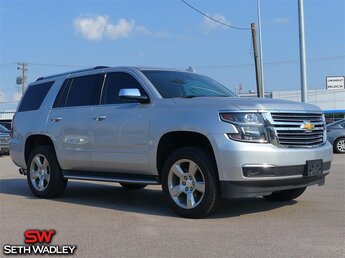 2015 Silver Ice Metallic Chevrolet Tahoe LTZ SUV Automatic EcoTec3 5.3L V8 Engine RWD 4 Door