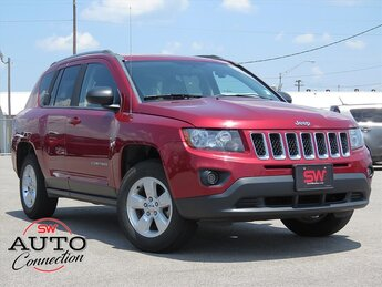 2015 Deep Cherry Red Crystal Pearlcoat Jeep Compass Sport FWD 4 Door Automatic (CVT) 2.0L I4 DOHC 16V Dual VVT Engine SUV