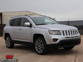 2014 Bright Silver Metallic Clearcoat Jeep Compass Limited FWD 2.4L I4 DOHC 16V Dual VVT Engine Automatic