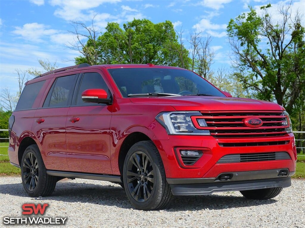 2020 Rapid Red Metallic Tinted Clearcoat Ford Expedition Limited SUV 4X4 EcoBoost 3.5L V6 GTDi DOHC 24V Twin Turbocharged Engine 4 Door Automatic