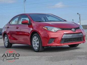 2016 Toyota Corolla L 4 Door FWD Automatic Sedan