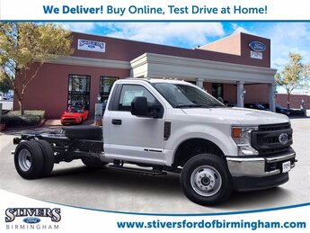 2021 Oxford White Ford Super Duty F-350 DRW XL Truck 4X4 2 Door Power Stroke 6.7L V8 DI 32V OHV Turbodiesel Engine Automatic