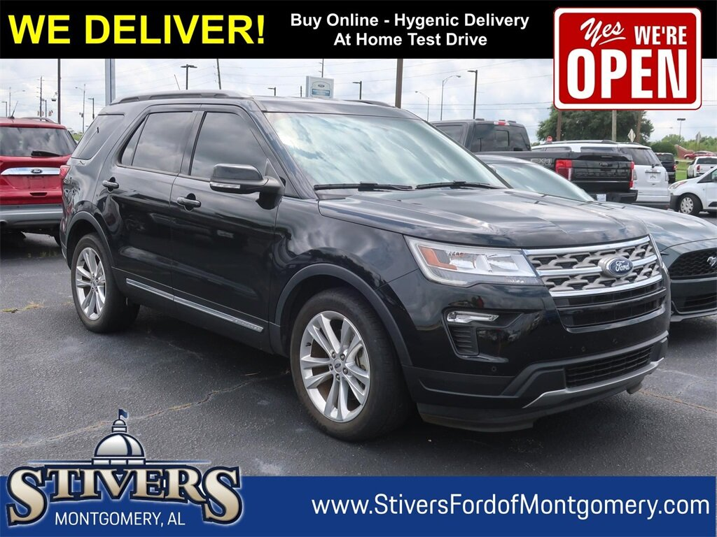2018 Shadow Black Ford Explorer XLT SUV Automatic Regular Unleaded V-6 3.5 L/213 Engine 4 Door