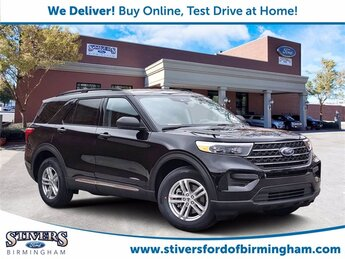 2021 Black Metallic Ford Explorer ST Automatic 4 Door 4X4 SUV V6 Engine