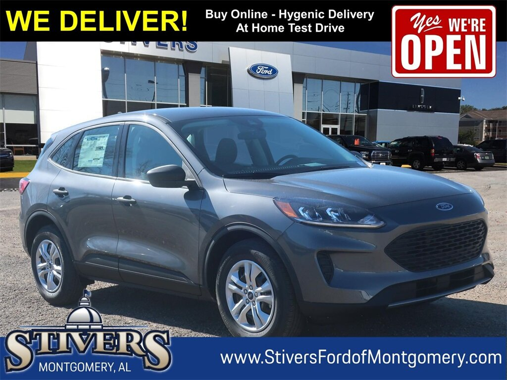 2021 Carbonized Gray Metallic Ford Escape S 1.5L EcoBoost Engine Automatic FWD