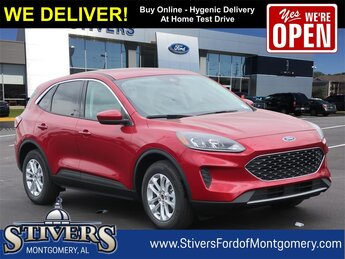2021 Red Ford Escape SE Automatic 1.5L EcoBoost Engine FWD