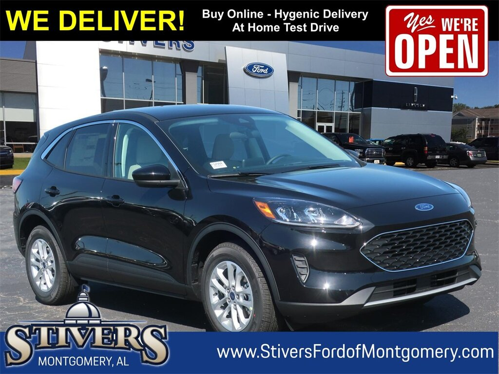 2021 Agate Black Metallic Ford Escape SE 1.5L EcoBoost Engine 4 Door SUV FWD Automatic