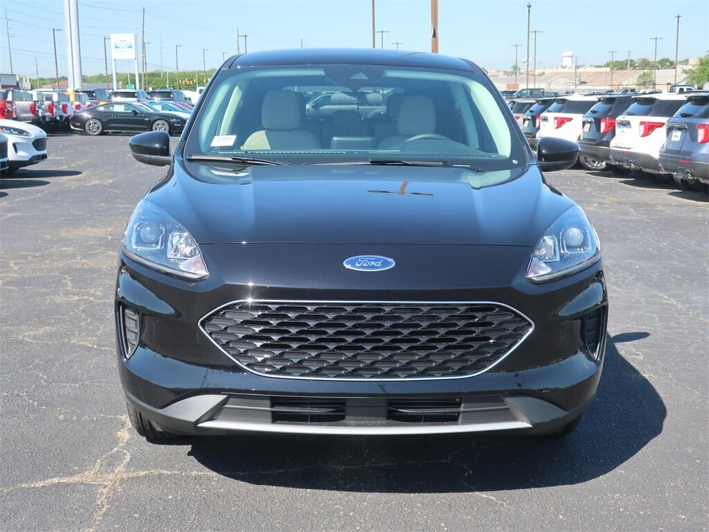 2021 Agate Black Metallic Ford Escape SE SUV 4 Door FWD
