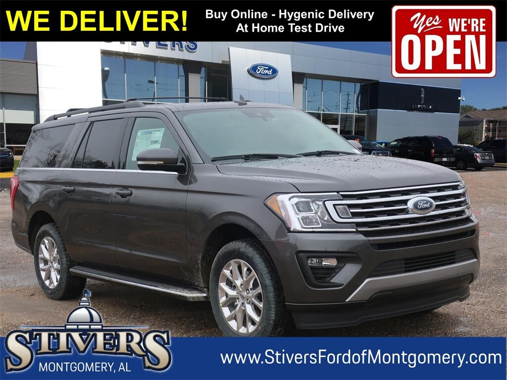 2021 Ford Expedition Max XLT 4 Door SUV EcoBoost 3.5L V6 GTDi DOHC 24V Twin Turbocharged Engine
