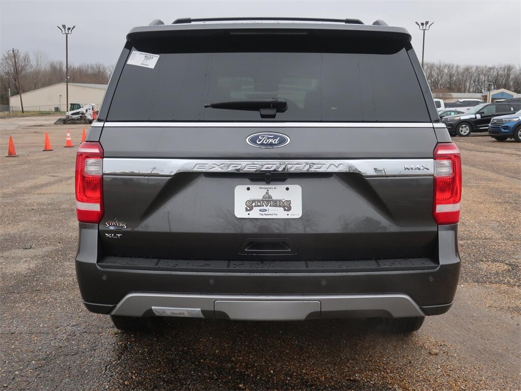 2021 Magnetic Metallic Ford Expedition Max XLT RWD Automatic EcoBoost 3.5L V6 GTDi DOHC 24V Twin Turbocharged Engine