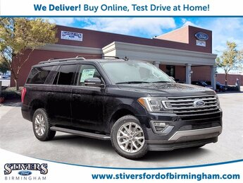 2021 Blue Metallic Ford Expedition Max XLT Automatic 4 Door RWD