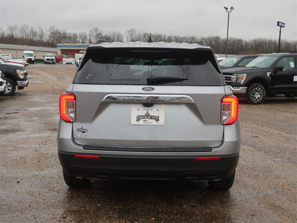 2021 Ford Explorer XLT RWD 2.3L EcoBoost I-4 Engine SUV Automatic 4 Door