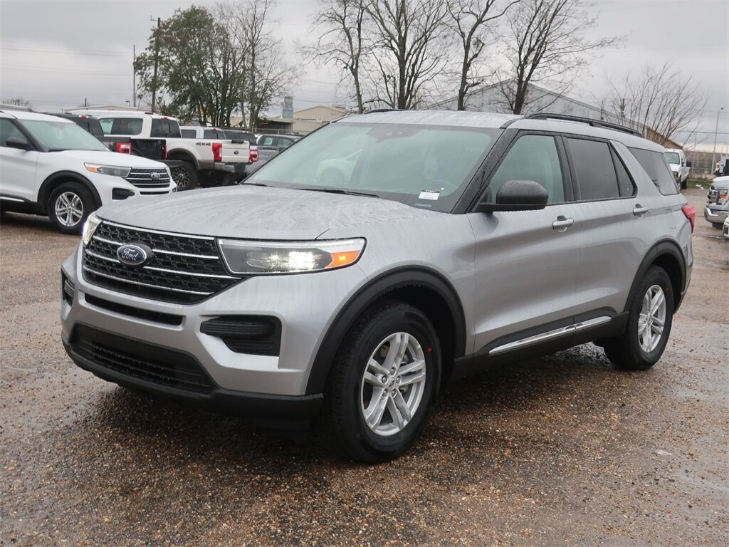 2021 Ford Explorer XLT SUV Automatic 2.3L EcoBoost I-4 Engine RWD