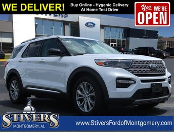 2021 Oxford White Ford Explorer Limited SUV Automatic EcoBoost 2.3L I4 GTDi DOHC Turbocharged VCT Engine