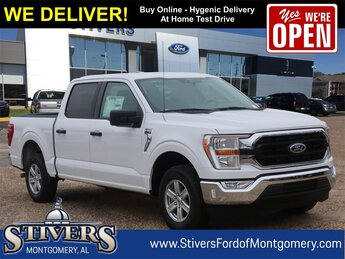 2021 Oxford White Ford F-150 XLT 3.3L V6 Engine 4 Door RWD Automatic Truck