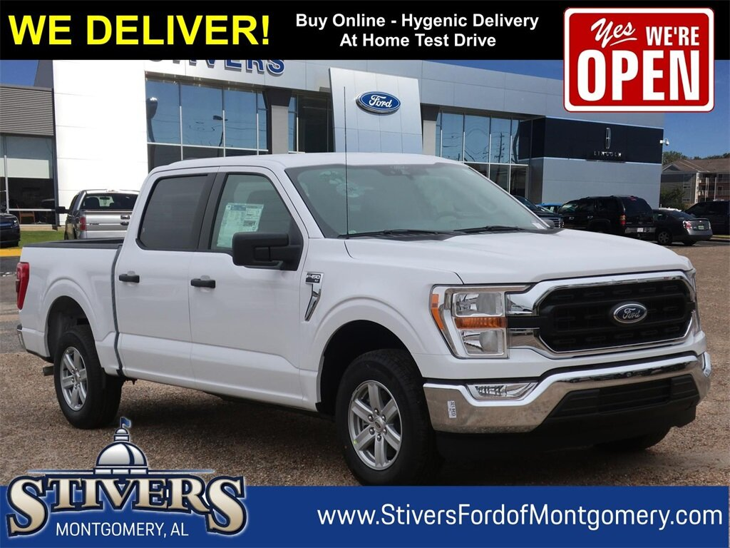 2021 Oxford White Ford F-150 XLT 4 Door RWD Automatic