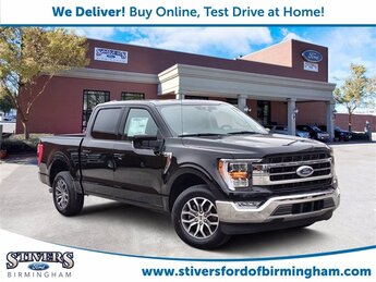 2021 Black Ford F-150 Lariat Automatic 2.7L V6 EcoBoost Engine RWD 4 Door